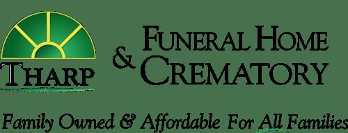 Tharp Funeral home logo
